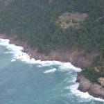La costa de Sóller desde la avioneta que piloté