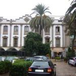 Fachada del Gran Hotel Sóller