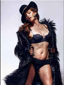 Cindy Crawford, sin photoshop a los 48 años