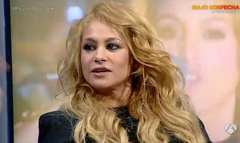 Paulina Rubio destroza la reputación de su amigo Enrique Iglesias en El hormiguero