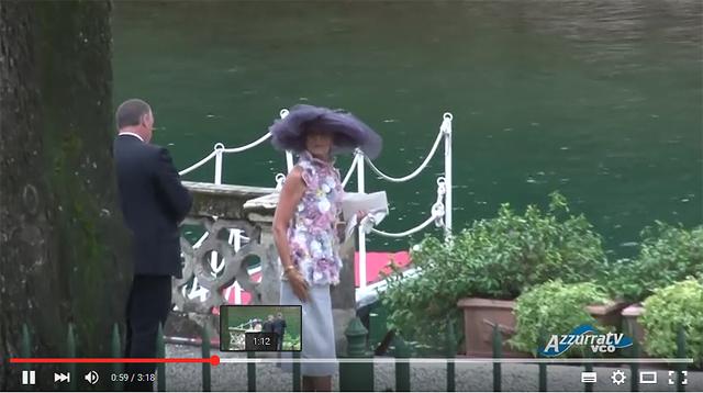 Carolina de Monaco en la boda de su hijo Pierre Casiraghi