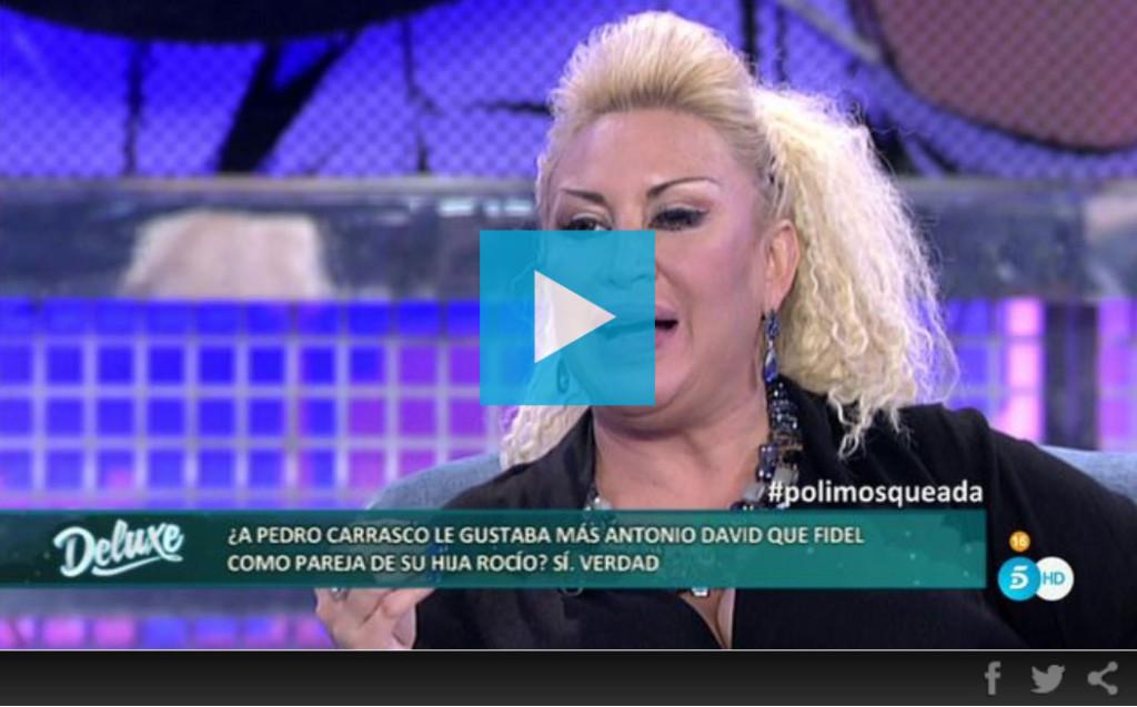 Raquel Mosquera dice que a Pedro Carrasco lo mató una discusión con Rocío Carrasco
