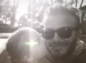 David Beckham y Harper vídeo