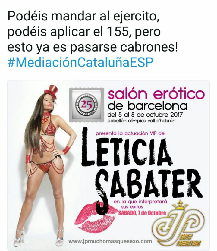 Leticia Sabater independencia catalana