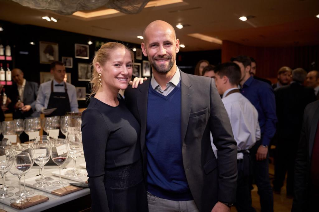 Fiona Ferrer y Gonzalo Miró