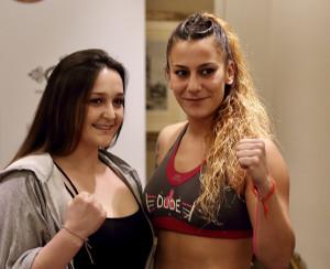 Claudia Águeda y Patricia Martín