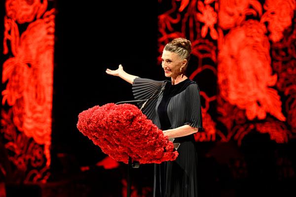Ángela Molina y el emotivo discurso que pronunció que hizo que hasta la propia Reina se aplaudiera a sí misma